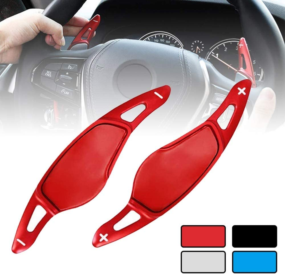 WQSNUB Car Steering Wheel Paddle Extend Direct Shift Gear Paddle Extension,For BMW 3 5 6 7 X3 X4 X5,G20 G30 G31 G32 G12 G01 G02 G05