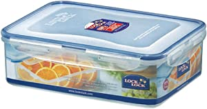 Lock&Lock 71-Fluid Ounce Rectangular Food Container, Short, 8.7-Cup