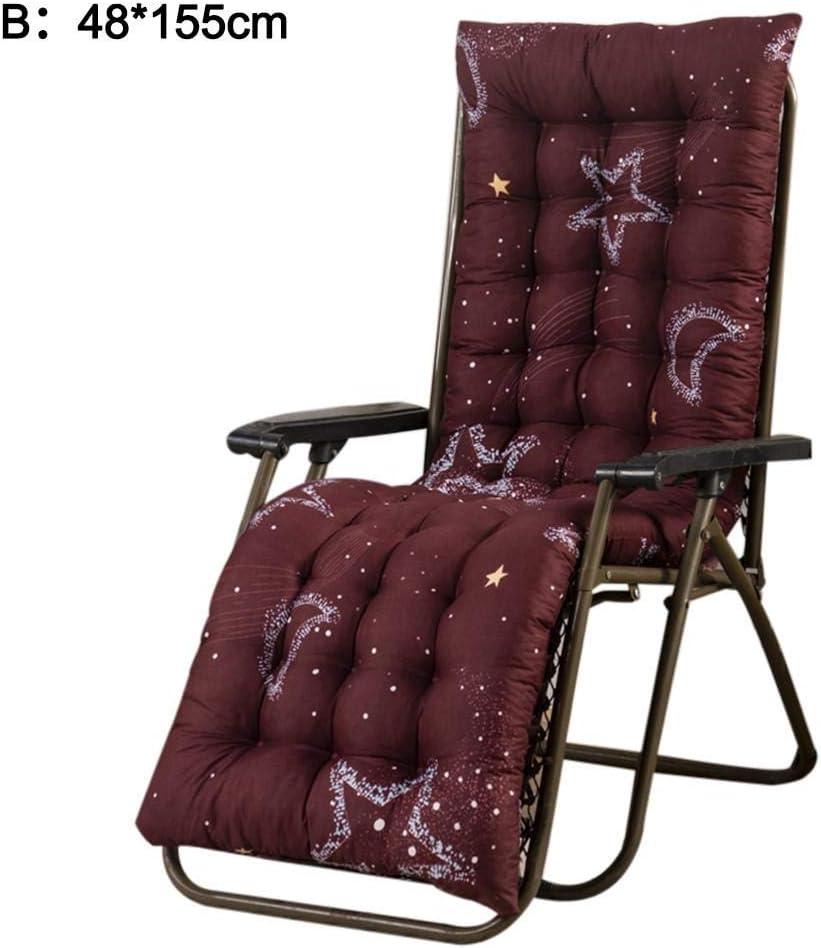 Coprisedili per sedie Relaxer reclinabili con Imbottitura Spessa per Viaggi//Vacanze//Interni//Esterni N//L Cuscini per lettini Prendisole Cuscini per mobili da Giardino Solo Cuscini