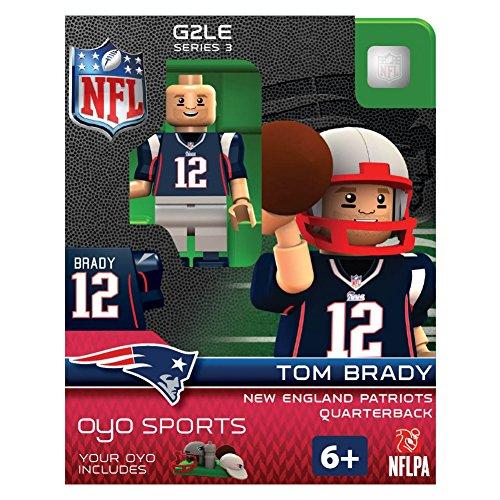 NFL New England Patriots Tom Brady Gen 2 Mini Figure, Petit