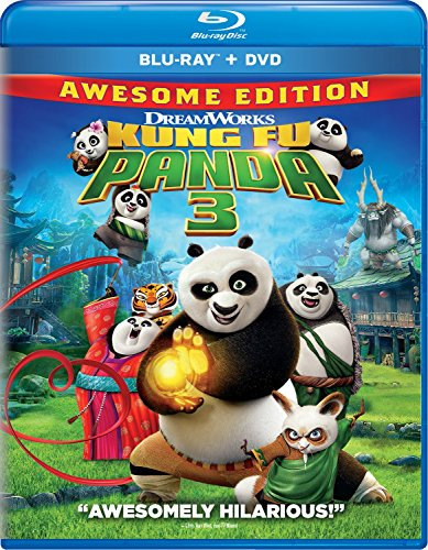 Blu-ray : Kung Fu Panda 3 (Dubbed, , Widescreen, AC-3, Digitally Mastered in HD)