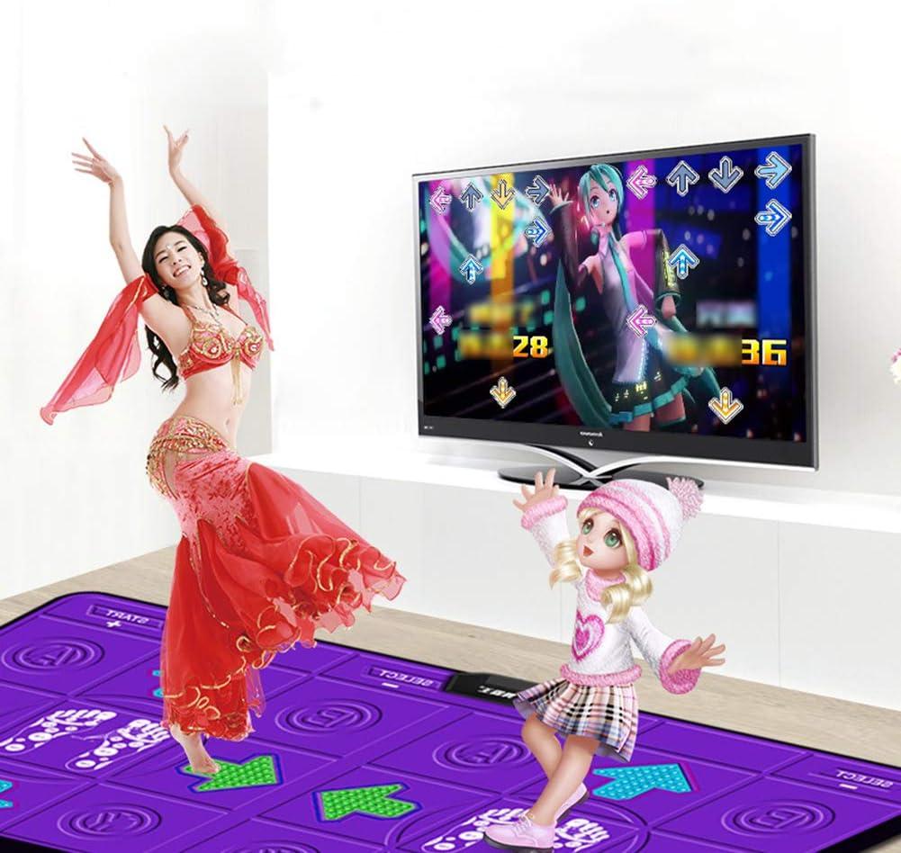 Starry sky Somatosensorisches Laufband Tanzmatten,Yoga-Fitness,Computer//Tv Weiche Tanzmatte rutschfeste Komfortable Verdickungsschalld/ämmung Somatosensorische Kinderspiele