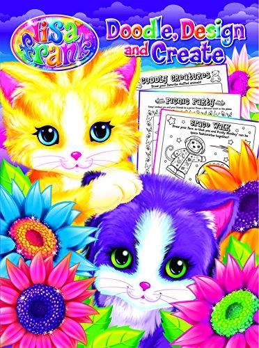 Lisa Frank Doodle, Design, and Create-Activity Book - Sunflower Kittens Paperback – September 1, 2016