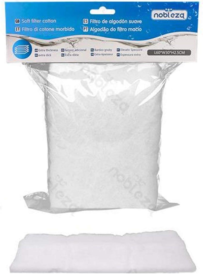 Nobleza - Filtro de algodón Suave de Lana de perlón: Amazon.es: Productos para mascotas
