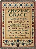 Manual  50 x 60-Inch Tapestry Throw with Fringe, Amazing Grace