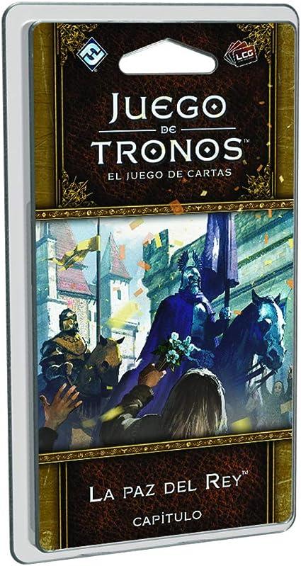 Juego de Tronos - La paz del Rey, juego de cartas (Edge Entertainment EDGGT04) , color/modelo surtido: Amazon.es: Juguetes y juegos