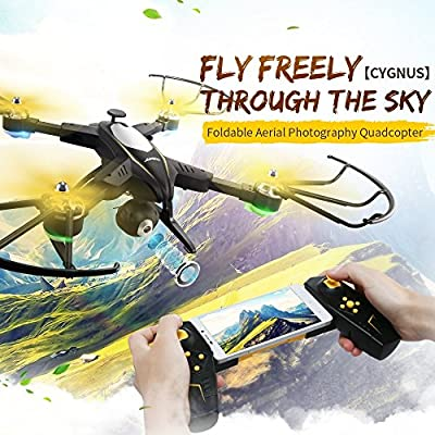 TOYEN GordVE GV1804 FPV Wifi RC Quadcopter Remote Control Drone Quadcopter One Key Return Helicopter with HD 2MPP Camera RC Drone by GordVE