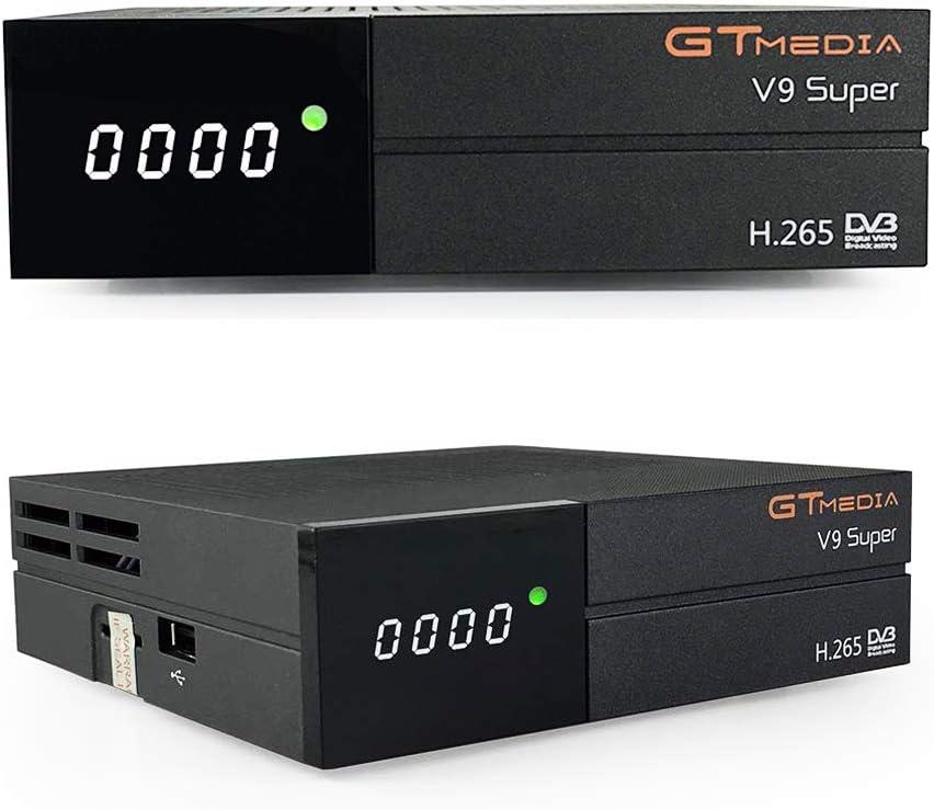 GTMedia V9 Super DVB S2 TV ricevitore Satellite decoder Support 1080P Full HD PowerVu Biss chiave Newca CCCAM con Built-in WiFi: Amazon.es: Electrónica