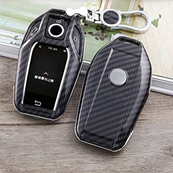 Remote Key Cover Fob Shell Case For BMW 2016 2017 2018 7 Series G11// G12 Display