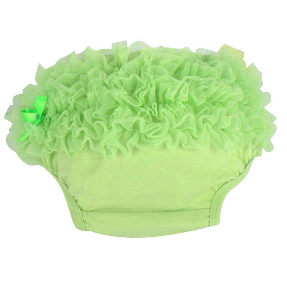 Baby Girls Rainbow Pettiskirt Ruffle Panties Briefs Bloomer Tutu Diaper Cover PY1033US13221