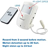 Conbrov HD028 HD Indoor Security Camera with Motion Detection and Night Vision Cam Recording
