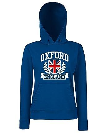 T-Shirtshock - Sudadera Hoodie para Las Mujeras TSTEM0118 Oxford England, Talla L: Amazon.es: Ropa y accesorios