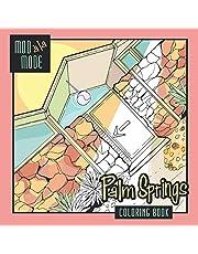 Mod A La Mode Palm Springs Coloring Book