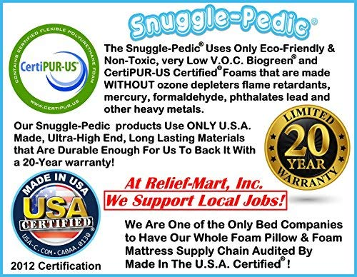 Snuggle Pedic very Luxury Bamboo Bed Pillows