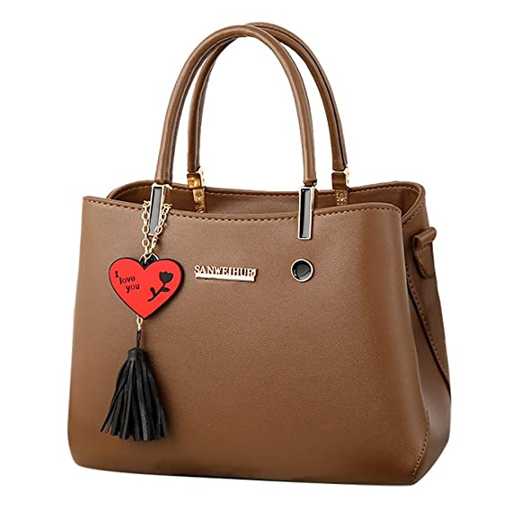 Amazon.com: Shoulder Bag,Longay Fashion Women Bag Leather ...