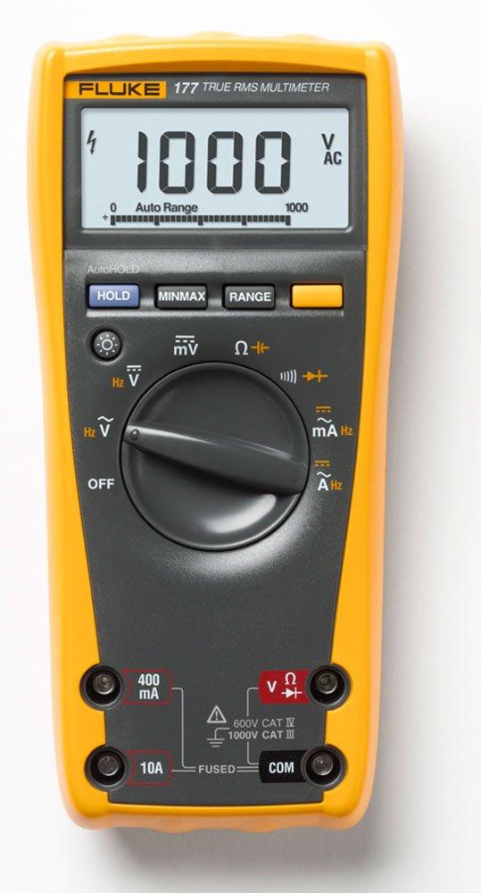 Fluke 177 with NIST Calibration | Handheld Multimeter - Type: Digital
