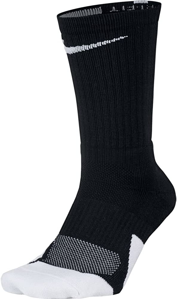 NIKE Dry Elite 1.5 Crew Basketball Socks (1 Pair) : Clothing