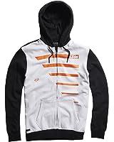 Fox Racing Mens Race Lines Fleece Hoody Zip Sweatshirt