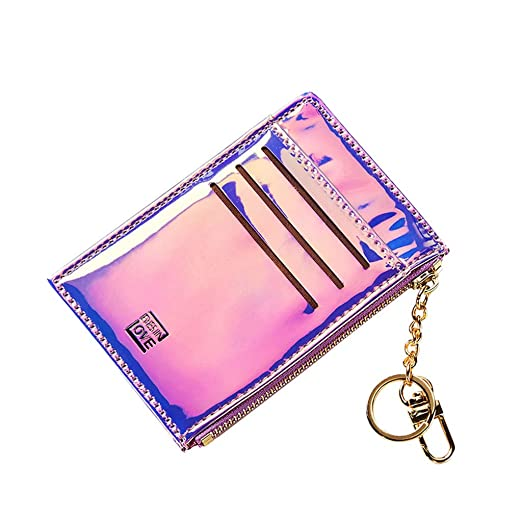 Amazon.com: Mini cartera multifunción para mujer, monedero a ...
