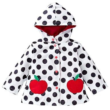 cade16116 BOZEVON Enfant Bébé Fille Manteau Imperméable Infant Raincoat Jacket ...