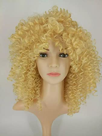 Hot Short Wigs For Black Women Kinky Curly Synthetic Wigs Natural Cheap Hair Wig With Bangs