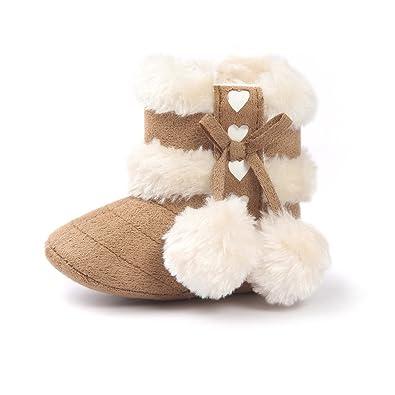 quality design 7f14c 130f4 Matt Keely Baby Mädchen Schneestiefel Kleinkind Winter Warme Schuhe