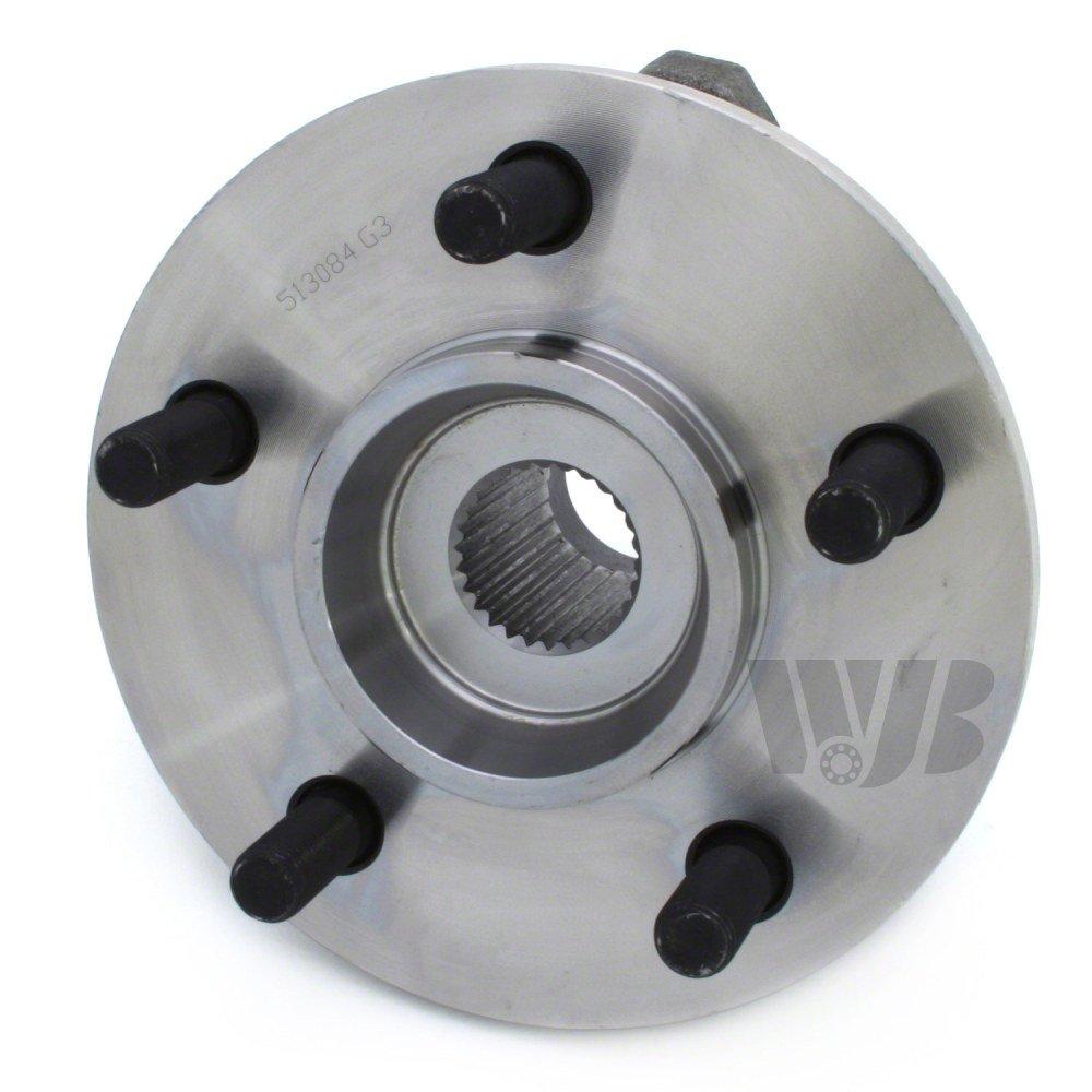 WJB WA513084 - Front Wheel Hub Bearing Assembly - Cross Reference: Timken 513084 / Moog 513084 / SKF BR930014