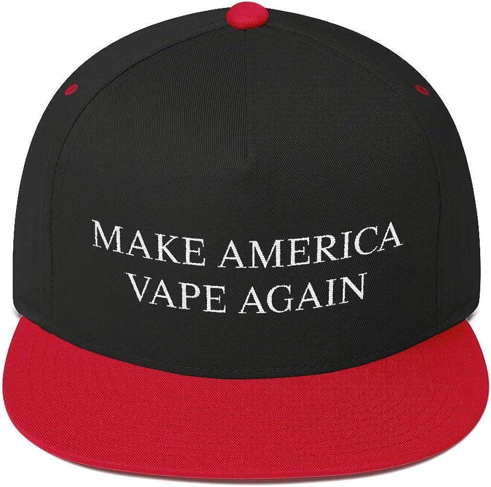 ThirdEyeSupply Make America Vape Again Hat Flat Bill Cap