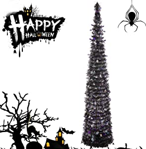 Amazon Giveaway Joy&Leo 5 Foot Halloween Spider...