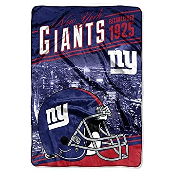 Amazon.com  Northwest 076 NY New York Giants NFL Stagger Oversized ... a20ff858c