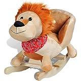 vidaXL Animal de lion à bascule