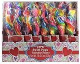 Swirl Pops Valentine Favors, 24 Pack