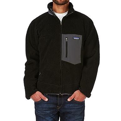 M's Classic Retro-X Jacket Black W Forge Grey: Amazon co uk