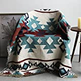 Ancient Asian Collection-Cotton Throw Blanket/Carpet/Rug for Zen Meditation,Mindfulness Training,50x70 inch (M-1627A)