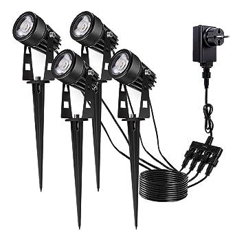 Eclairage Exterieur de Jardin, GreenClick Spot LED Extérieur ...
