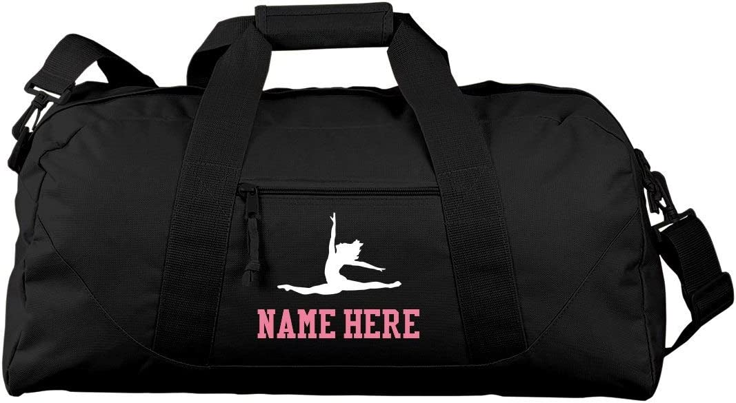 Personalized Ballet Bag With Name Gift Liberty Large Square Duffel Bag