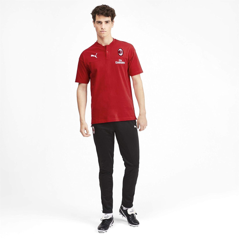 Puma 2019-2020 AC Milan Casuals Polo de fútbol Playera de fútbol ...