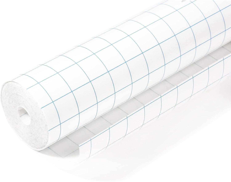 HERMA 12 Buchschutzfolie selbstklebend 12 mx 12 cm, transparent glänzend  reiß  und wasserfest, aus umweltfreundlicher Polypropylen Folie für ...