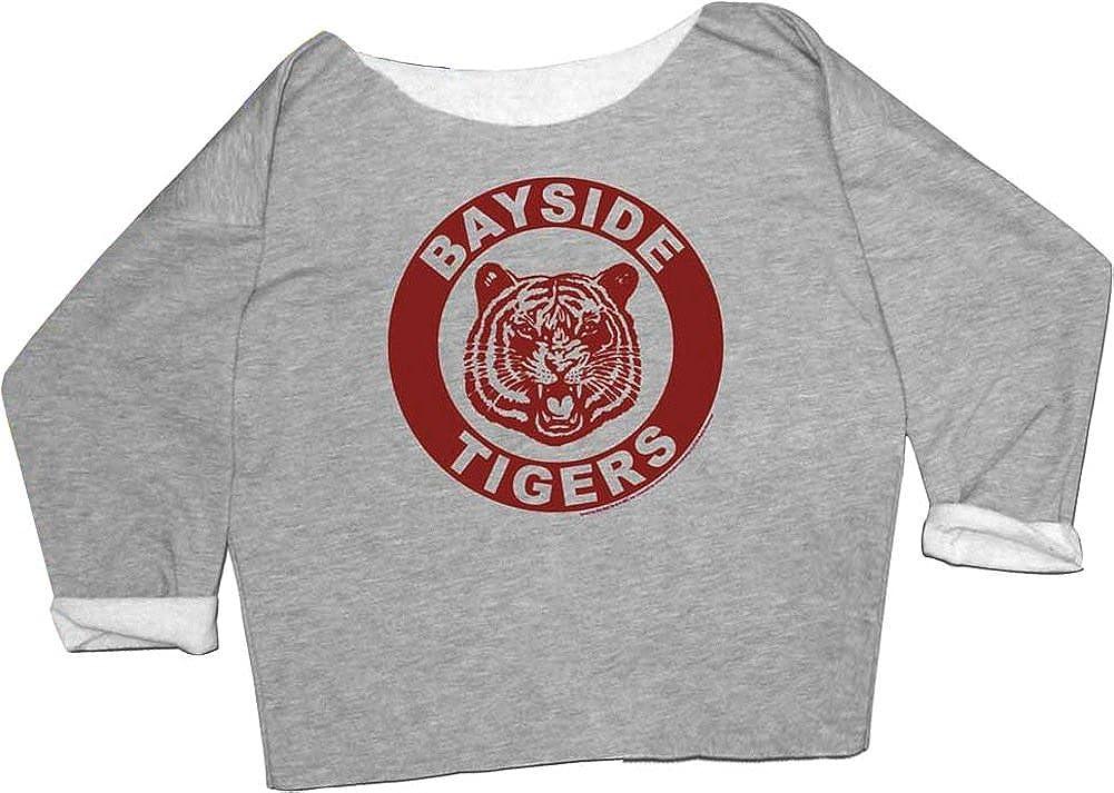 Bayside Tigers Pullover Hoodie Ladies Long Sleeve Tops Hooded Sweatshirts