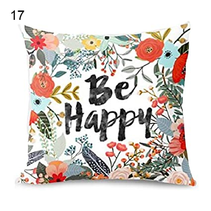 Amazon.com: Decemter - Funda de almohada decorativa de 18 x ...