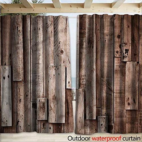 warmfamily - Cortina de Madera para pérgola, diseño rústico, Color Roble: Amazon.es: Jardín