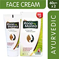Roop Mantra Ayurvedic Cream For Men And Women, 60g (Pack Of 2)