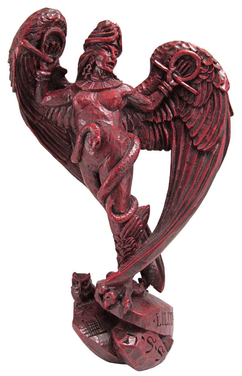 Dryad Design Goddess Lilith Statue Rosewood Finish