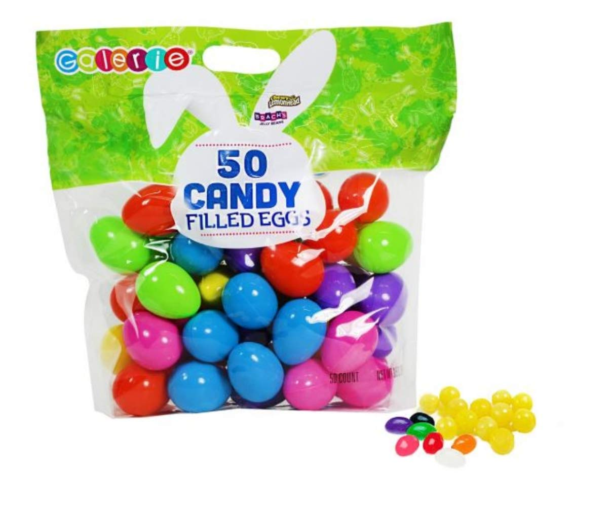Amazon.com : Lemonhead and Brach\u0027s Jelly Beans Filled Easter Eggs