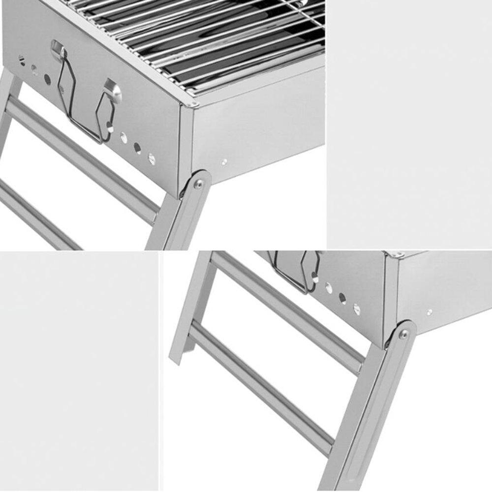 Amazon.com: zz-aini portátil plegable parrillas de carbón ...