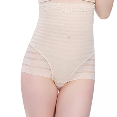 e58c0df63a1 TenMet Women Shapewear High Waist Postpartum Abdomen Underwear Body Shaping  Pants Seamless Briefs