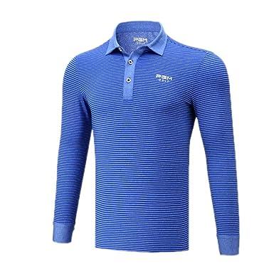 PGM Camisa Polo De Golf De Manga Larga Dry Fit para Hombre ...