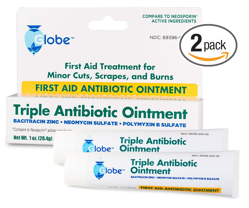 Amazon.com: Triple Antibiotic First Aid Ointment, 1 oz. (Compare to ...