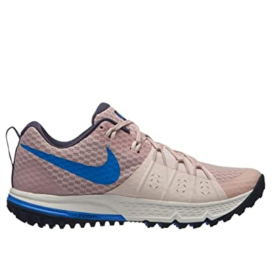 fbaa33113c737f Nike Women s Air Zoom Wildhorse 4 Running Shoe Particle Beige Signal Blue-Guava  ICE