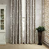 100''W x 84''L (Set of 2 panels) Multi Size Available Custom Modern Country Rustic Floral Cotton Polyester Blend Print Grommet Top Energy Efficient Window Treatment Draperies & Curtains Panels